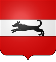 Damme's coat of arms