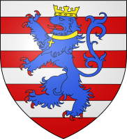 Coat of arms of city of Bruges